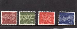 Germany 1960  Olympic Summer Sports MNH