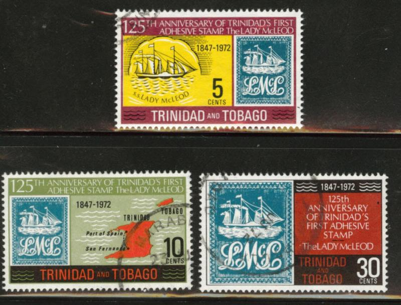 Trinidad Tobago Scott 216-218 Used CTO set