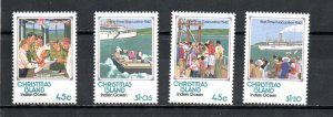 Christmas Island 319-322 MNH