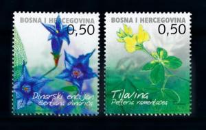 [69975] Bosnia Herzegovina Croatia 2005 Flora Flowers Blumen  MNH
