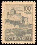Estionia #NB1-NB6, Complete Set(6), 1941, Hinged