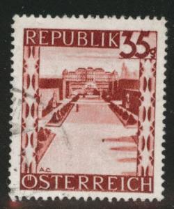 Austria Scott 468 MH* stamp from 1945-46 set
