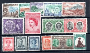 Southern Rhodesia QEII LHM collection WS18805