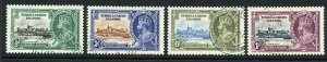 Turks and Caicos SG187/90 1935 Silver Jubilee Used