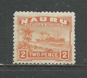 Nauru # 20a Unused HR