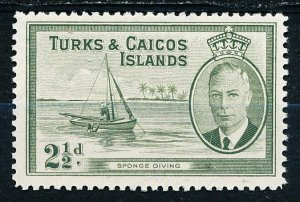 Turks & Caicos Islands #109 Single MNH