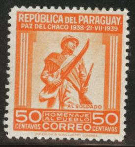 Paraguay Scott 366 MH* stamp