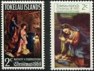 Tokekau SC# 20-1 Christmas MNH