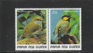 Papua New Guinea  Scott#  716a  MNH  (1989 Tit Berrypecker)