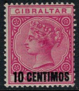 Gibraltar #23*  CV $14.50