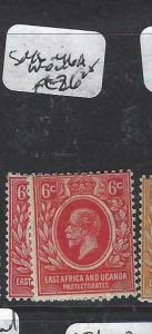 EAST AFRICA AND UGANDA  (P3105B)  KGV   6C  SG 46-46A      MOG