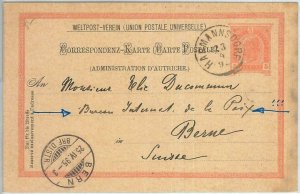 69815 - AUSTRIA - POSTAL HISTORY - Stationery Card sent to NOBEL PRICE winner