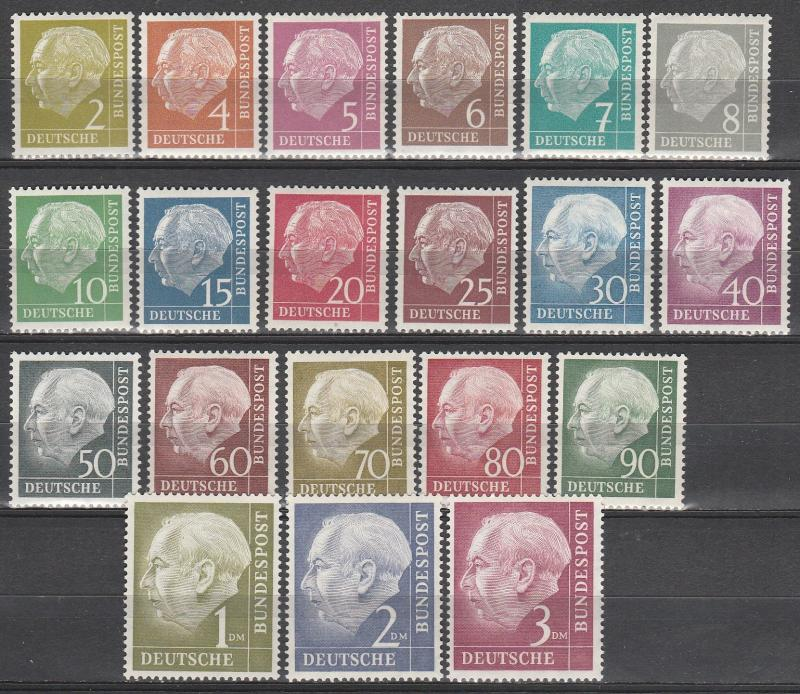 Germany #702-21 MNH  CV 225.00  (A12586)