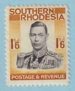 SOUTHERN RHODESIA 51  MINT HINGED OG * NO FAULTS EXTRA FINE!
