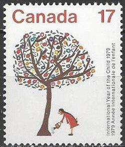 Canada  842  MNH  International Year of the Child 1979