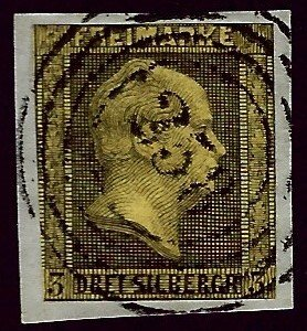 Prussia SC #13a Used F-VF...Worth a Close Look!