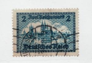 GERMANY Sc#387 Θ used Deutsches Reich , postage stamp cv$15