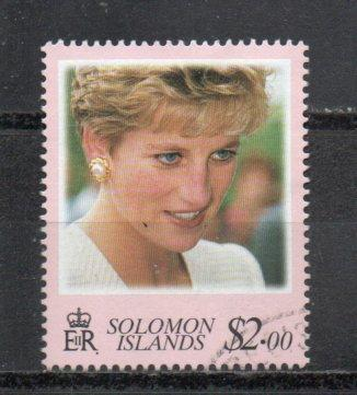 Solomon Islands 866 used