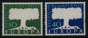 Germany 771-2 MNH - EUROPA, United Europe