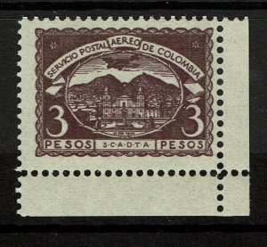 Colombia SC# C34. Mint Never Hinged, minor ink remnant & some creasing - S10306