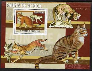 St Thomas & Prince Islands 2009 Animals of Africa - J...