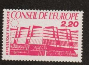 FRANCE SGC42 1986 COUNCIL OF EUROPE BUILDINGS  MNH