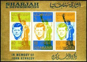 SHARJAH AND DEPEND. C27a  Mint (ID # 23831)- L
