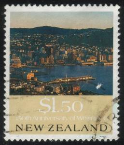 New Zealand - #995 - Mt. Victoria, Wellington  - Used
