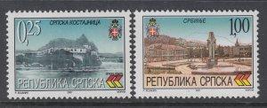Bosnia and Herzegovina Serb Admin 142-143 MNH VF