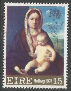 IRELAND 366 VFU CHRISTMAS Z2703-1