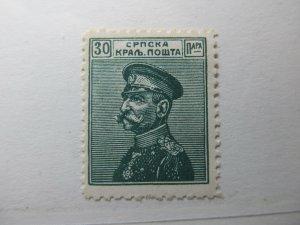 Serbien Serbia 1911 30p Fine MNH** A5P18F391