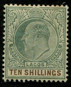 HERRICKSTAMP LAGOS Sc.# 49 Mint LH Scott Retail $350.00