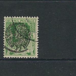 Burma Japanese Occ  1N28 SG J4 JPS 1B4 CTO VF 1942 SCV $175*