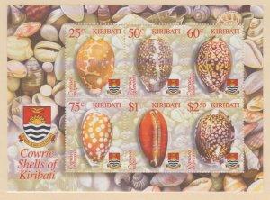 Kiribati Scott #824a Stamp - Mint NH Souvenir Sheet