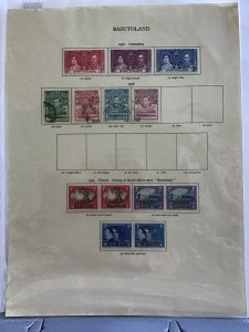 Basutoland 1937 to 1949  stamp  pages R23483