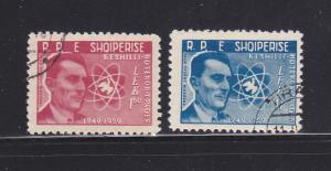 Albania 541, 543 U Frederic Joliot-Curie, Physicist (A)