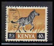 Kenya Used Very Fine ZA4494