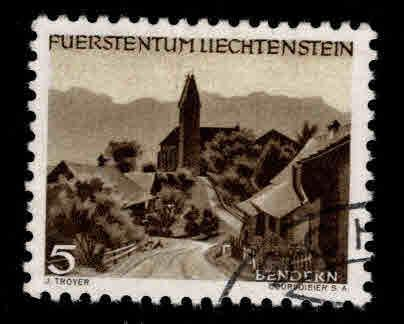 LIECHTENSTEIN Scott 239 Used 1949 stamp
