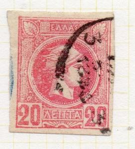 Greece 1889-95 Early Issue Fine Used 20L. 200178