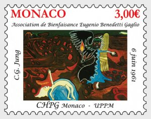 Stamps Monaco 2021 - Princess Grace Hospital Centre.Eugenio Benedetti Associat
