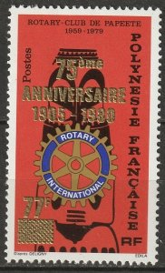 French Polynesia 1980 Sc 330 MNG