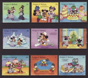 Antigua 1742-1750 Disney's MNH VF