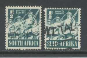 South Africa 81a & 81b  Used