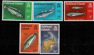 Falkland Islands 1981 Fish MNH