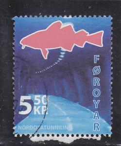Faroe Islands  Scott#  473  Used