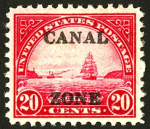 CANAL ZONE #92 MINT NG