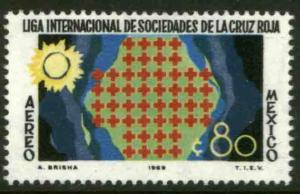 MEXICO C370, 50th Anniv League of Red Cross Societies. MINT, NH. F-VF.