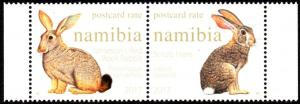 Namibia - 2017 Hares and Rabbits Set MNH**