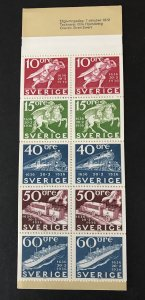 Sweden 1972  #950a Booklet MNH, No gum as Issued