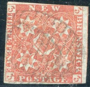 NEW BRUNSWICK - Sc #1 Used, Fine - S8246